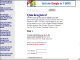 Quickregister Search Engine Submission
